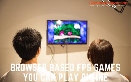 Browser Based FPS Games
